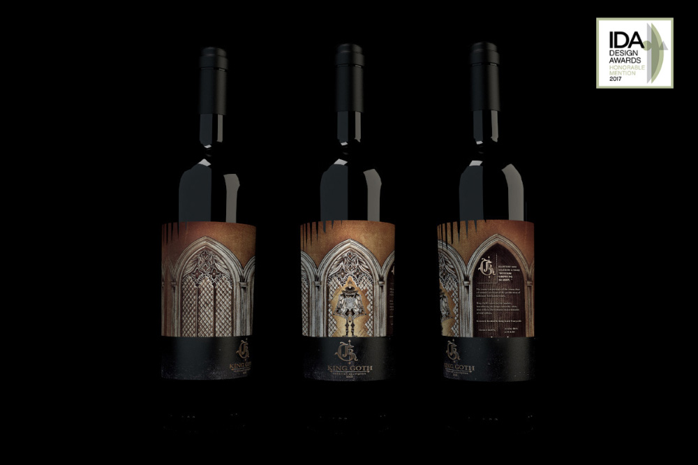 Red Wine Packaging Design