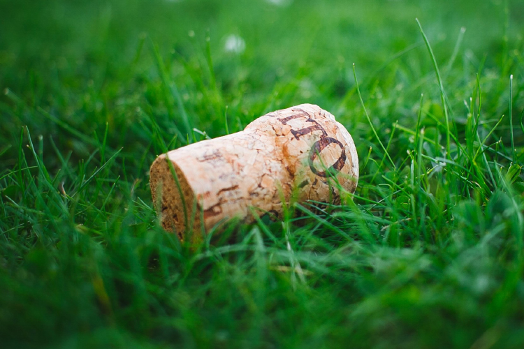 Cork. The 100% recyclable, environmentally friendly material