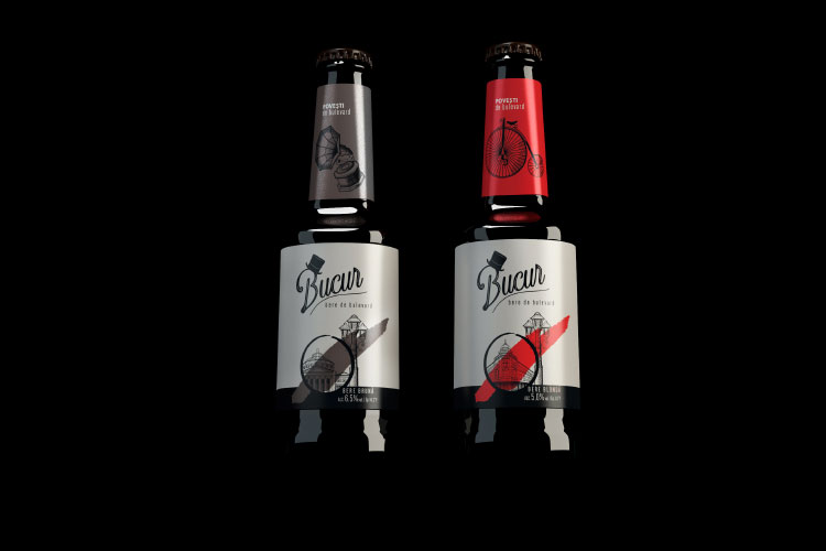 Case study: Bucur Beer - Packaging Branding