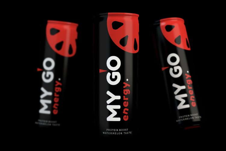 Case study: A boost of energy with My Go, Energy Drink Branding
